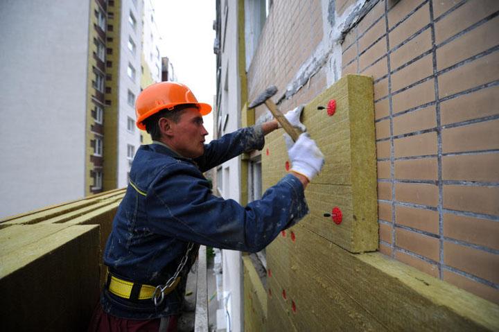 Отделка фасада панелями стоимость работ